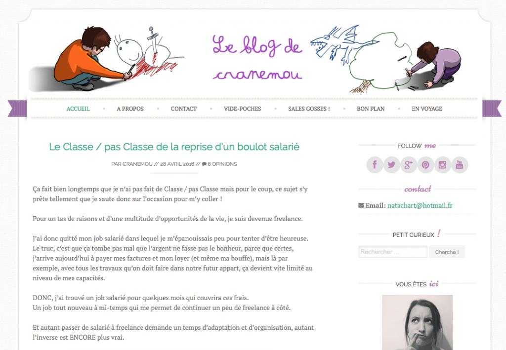 Cranemou : un blog de maman, de voyage et de droleries... a Lyon et autour du monde
