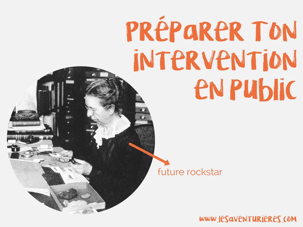 Préparer une intervention en public – sans avoir envie de vomir un seau avant d'y aller