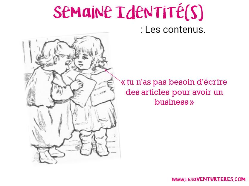 Semaine Identité(s) : Les contenus.