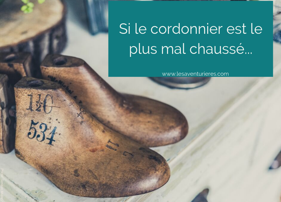 Si le cordonnier est le plus mal chaussé… ??