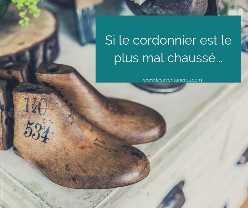 Si le cordonnier est le plus mal chaussé… 😤😱