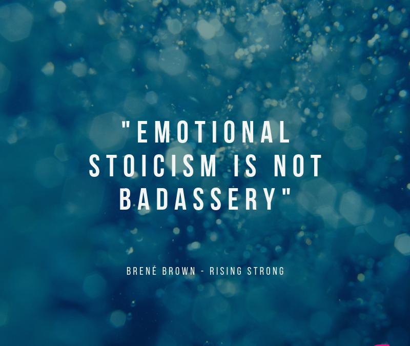 Le stoïcisme émotionnel et ses limites