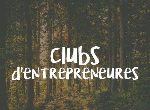 clubs d'entrepreneures
