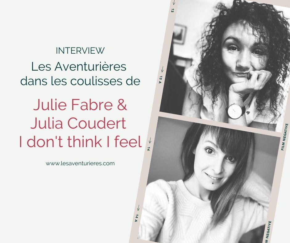 Julia Coudert et Julie Favre I don't think